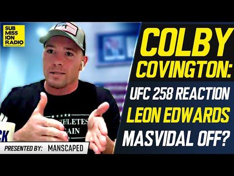 Colby Covington Reacts to UFC 258, Responds to Leon Edwards Fight, Rips Kamaru Usman, Jorge Masvidal