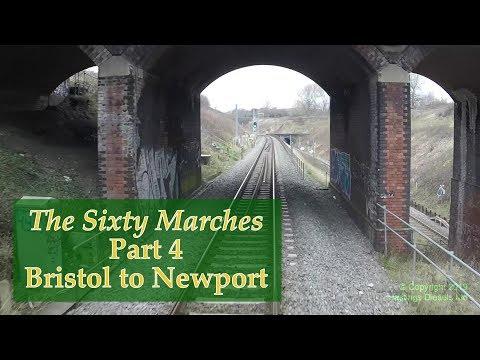 Bristol (Dr. Day's Jn) to Newport (Maindee North Jn) –Hastings DEMU cab ride – 24 March 2018