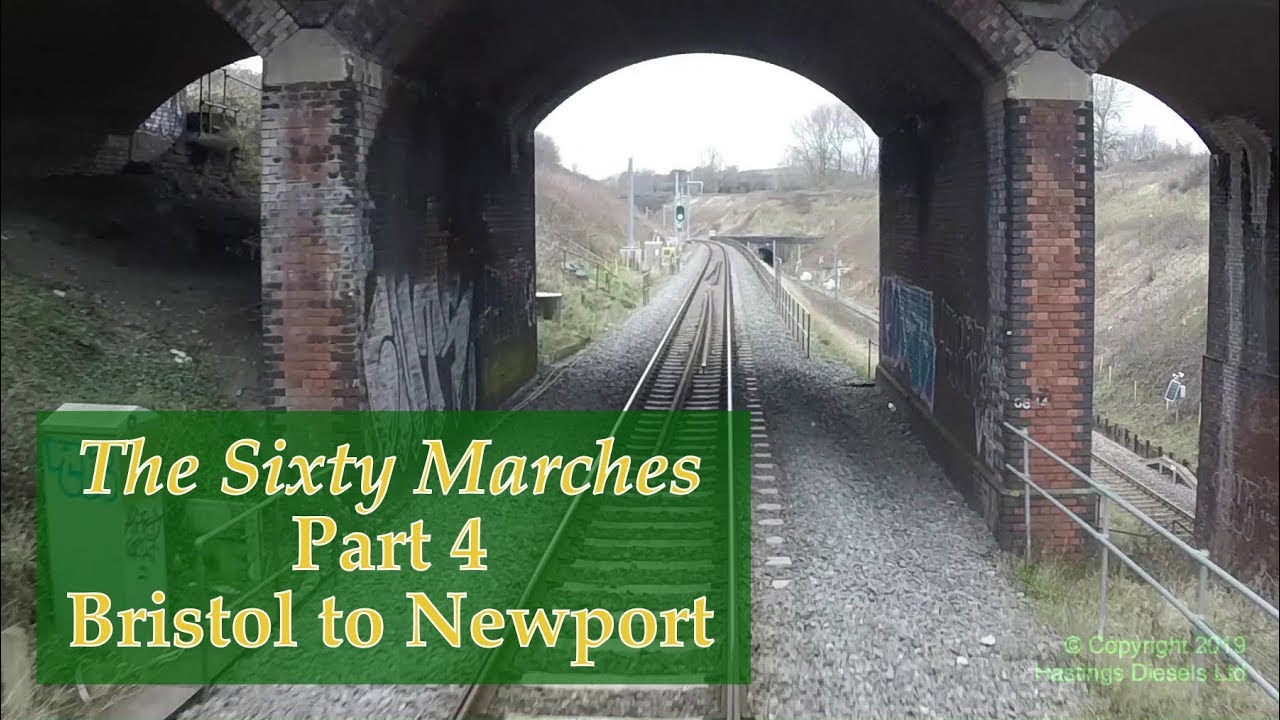 Bristol (Dr. Day's Jn) to Newport (Maindee North Jn) –Hastings DEMU cab ride – 24 March 2018 #1