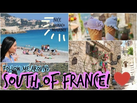 Follow Me Around France! - Nice, Cote D'Azur & Provence!