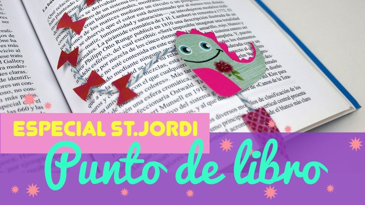Como Hacer Puntos De Libro De Sant Jordi Manualidades De Puntos De