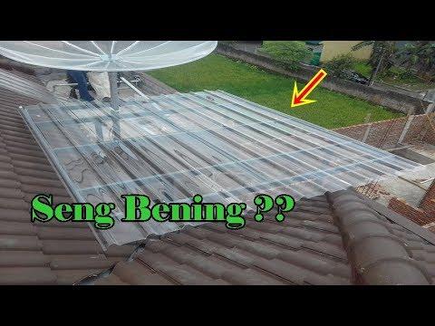 Pemasangan Atap Bening
