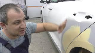 Как подготовить авто к покраске! KIA optima и немного рассуждений)