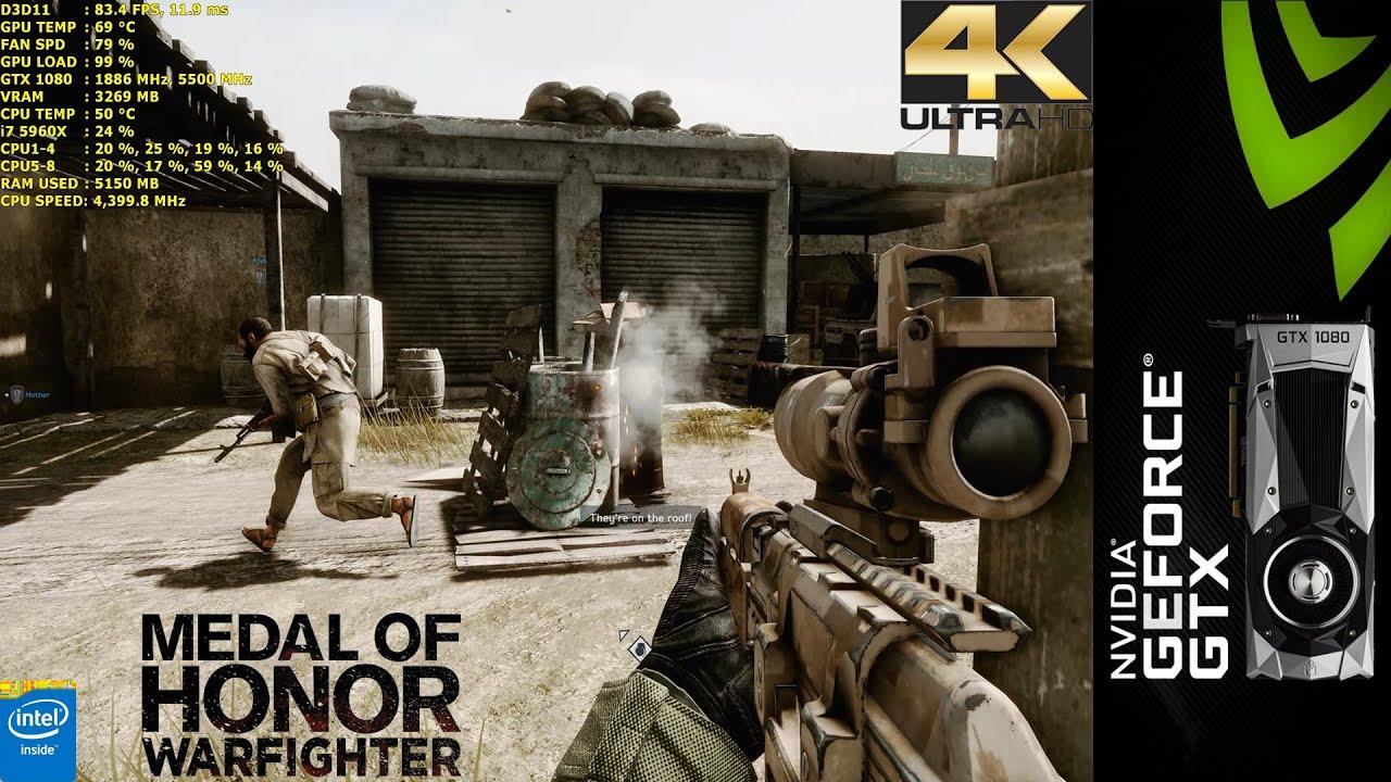 Medal Of Honor Warfighter Ultra 4k Gtx 1080 Fe I7 5960x 4 4ghz