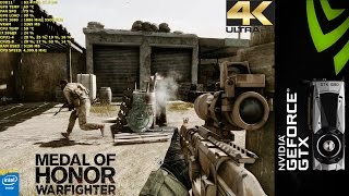 Medal of Honor Warfighter Ultra 4K | GTX 1080 FE | i7 5960X 4.4GHz
