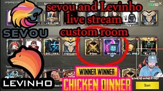 Pubg | Custom Room with Sevou and Levinho Winners روما دگەل سیڤو ئو لیڤینو