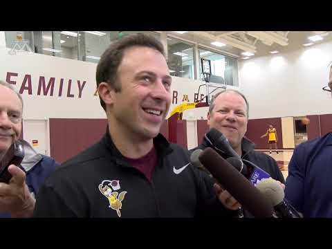 Richard Pitino - 1st Day of Practice