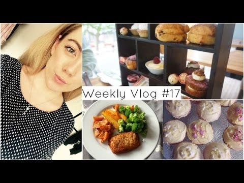 Weekly Vlog #17   Afternoon Tea & Baking   MoreOfLucy.