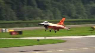 F-16 Gerald Rutten JET WORLD MASTERS MEIRINGEN SWITZERLAND 2013