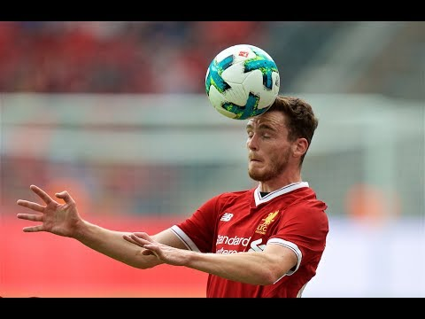 Andy Robertson Debut vs Herha Berlin • 29.07.2017
