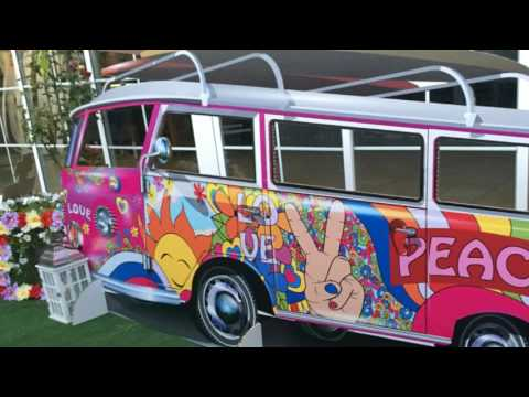 Fiesta tematica Hippie de J y M