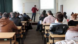 Requirements Engineering & UML diagrams lecture at Technical University Varna