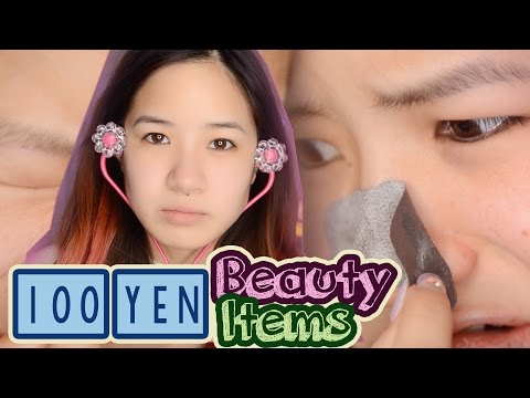 10 JAPANESE BEAUTY PRODUCTS (100 YEN) | Daiso in JAPAN | 100円コスメを使ってみた!