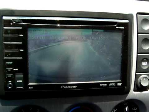 pioneer avh p3100dvd how to make a mapping diagram retrocamera su ford fiesta mk6 youtube