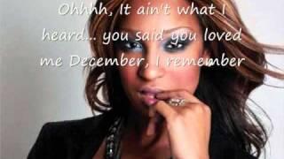 Olivia - December Lyrics