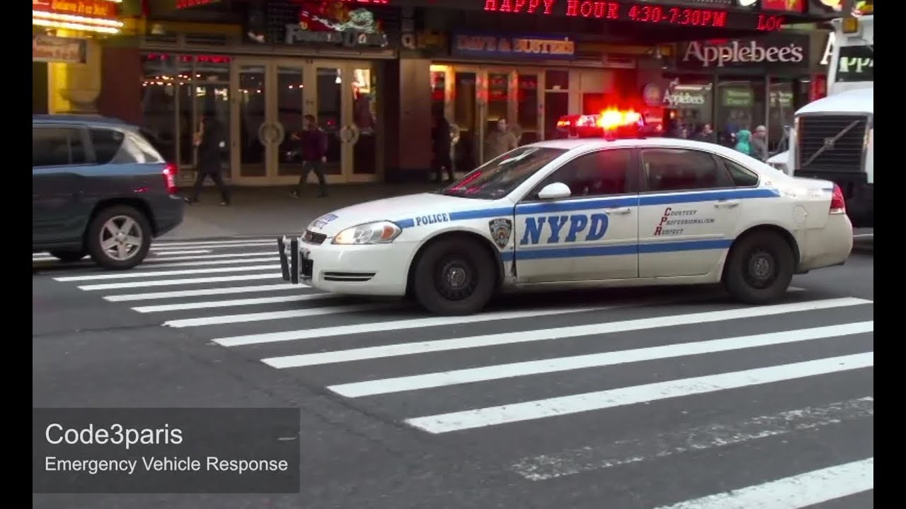 nypd police cars responding collection youtube
