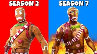 The NEW Gingerbread Man in Fortnite