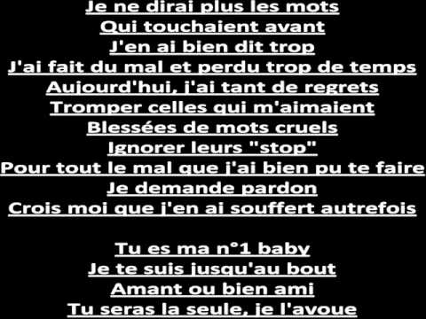 Pas sans toi - Matt' Pokora . [ Paroles ]