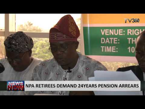 NPA retirees demand 24years pension arrears
