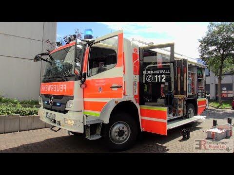 [GEFAHRGUTEINSATZ IN FIRMA] - Großeinsatz Feuerwehr Düsseldorf ~ Natronlauge ausgelaufen -