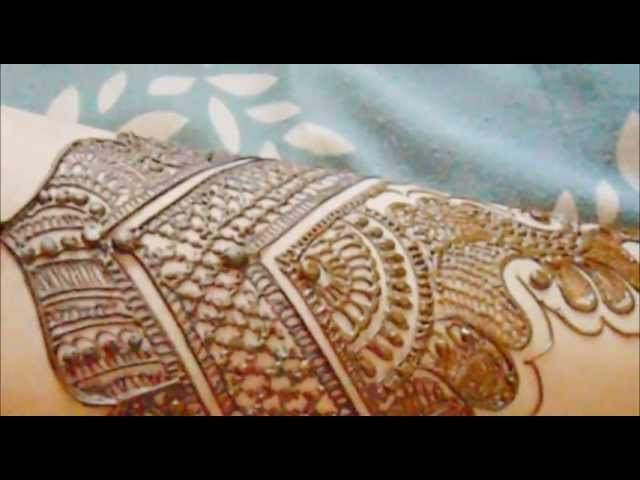 How To Make Bollywood Henna Mehendi Designs-Arabic/indian/pakistani Mehndi/Bridal Hand Travel Video