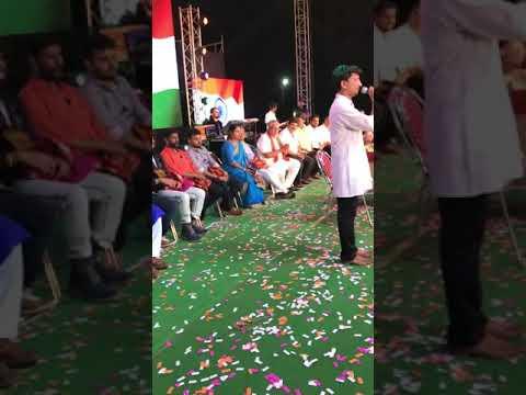 Patla Sathish Shetty Awsome Singing In front Of Usha Mangeshkar.