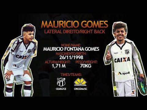 Mauricio Gomes - Lateral Direito - Copa SP 2018