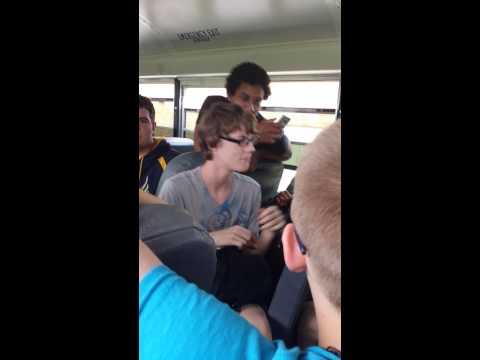 Bus rap battle