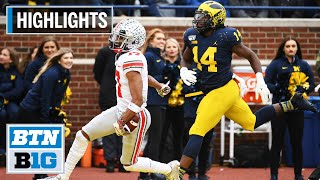Highlights: Fields, Dobbins Tally 4 TDs Each in Win | Ohio State at Michigan | Nov. 30, 2019