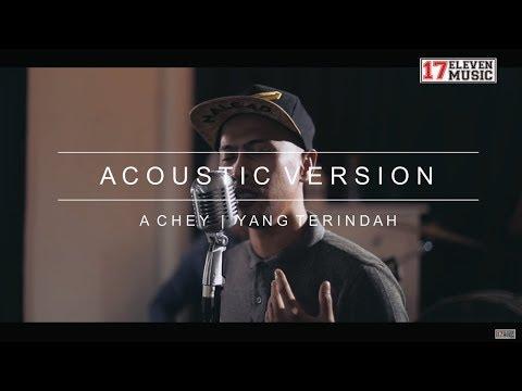 Achey Acoustic Version 'Yang Terindah'