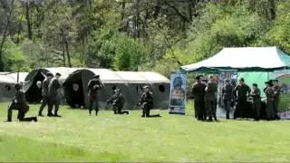 Szkolenie wojskowe pułtuskich Strzelców