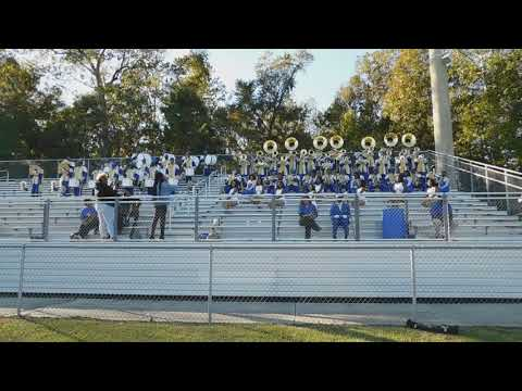 Allen University Marching Band 2019 Heat By Chris Brown