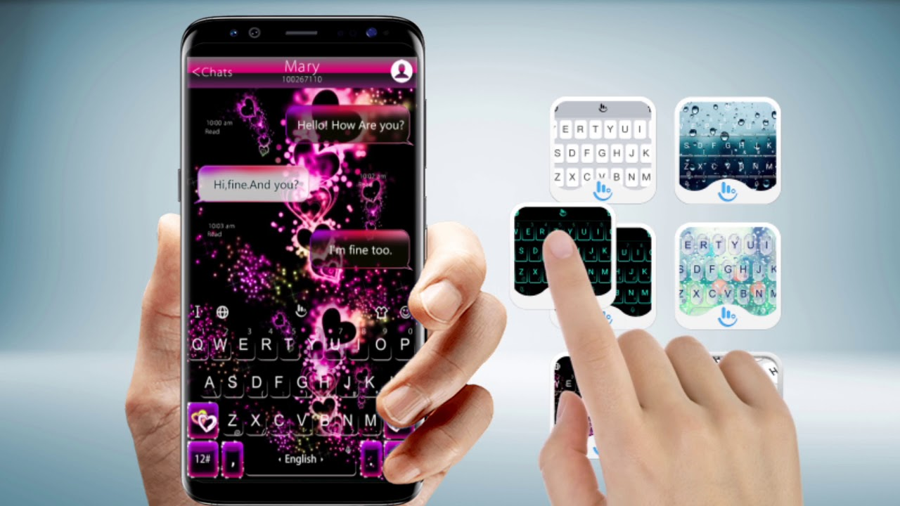 Popular Skin Themes of TouchPal Keyboard