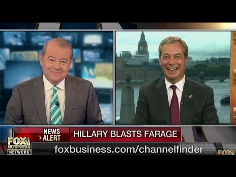 Nigel Farage: Hillary Clinton's book should be renamed 'The Great Whinge'