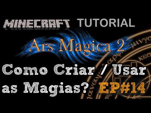 Tutorial Ars Magica 2 - Como Criar as Magias (Crafting Altar) Minecraft Mod EP#14 PT BR ( Wiki )