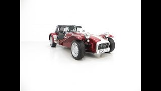 A Rare Caterham Seven 40th Anniversary Edition with Just 13,117 Miles - £17,995