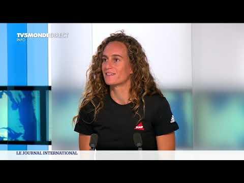 Justine Dupont repousse les limites - Un podcast TV5 Monde