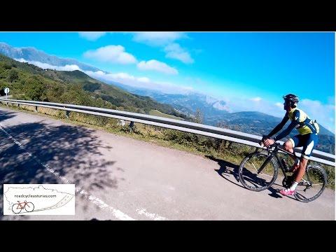El Cordal, Asturias. Climb preceding El Angliru at La Vuelta Espana