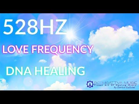 528HZ Solfeggio ♡ DNA Healing ♡ LOVE Frequency ♡ Meditation Music