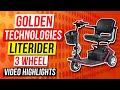 Golden Technologies LiteRider 3 Wheel Mobility Scooter GL111D Review