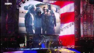 Nickleback LIVE performs Burn It To The Ground and When We Stand Together HD