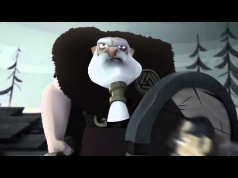 Мультфильм викинг в раю