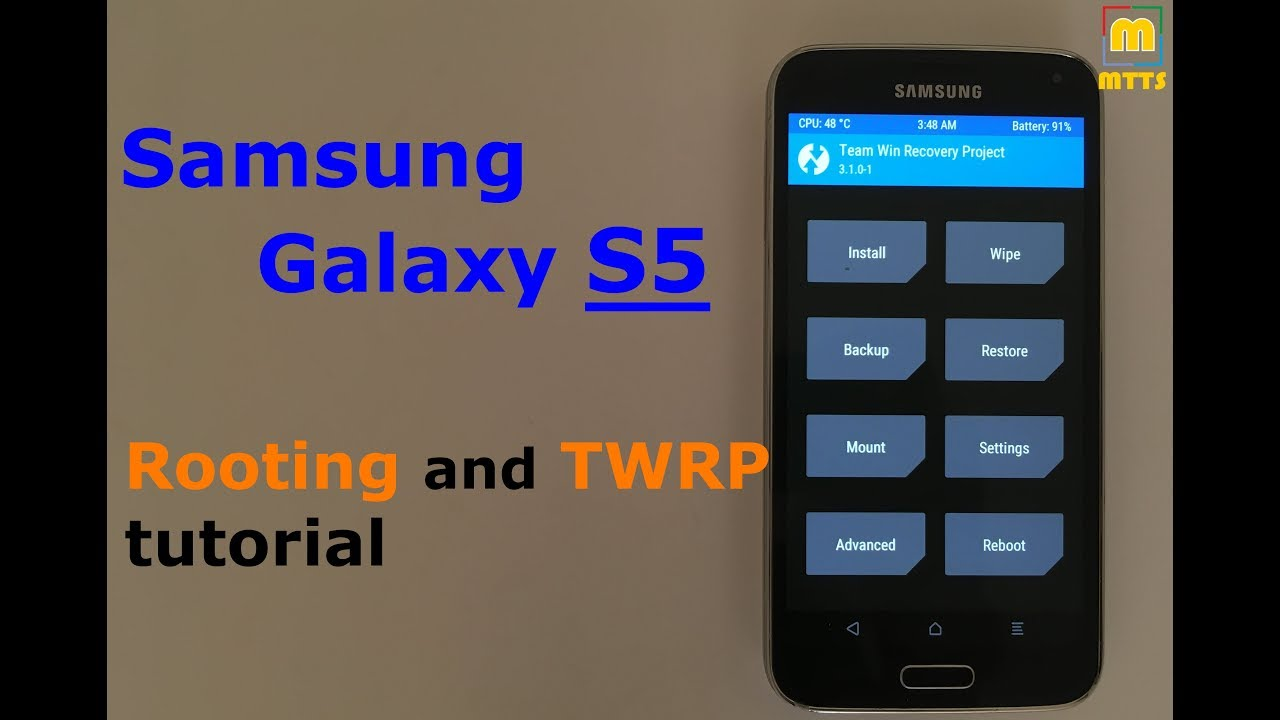Rooting and TWRP tutorial - Galaxy S5