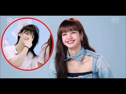 Lisa (BlackPink)s surprise reaction when she's asked about her bangs