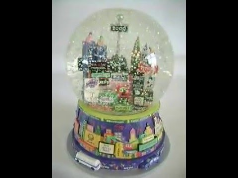 TWIN TOWERS Auld Lang Syne New York City Musical Theater Snow Globe Broadway Cares