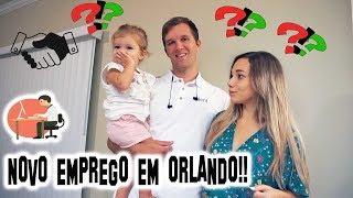 O NOVO TRABALHO DO JONES EM ORLANDO!