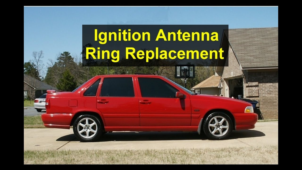 Ignition Immobilizer Antenna Ring Replacement On A Volvo S70 V70