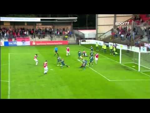 Rot Weiss Ahlen - Rot-Weiß Oberhausen 0:2 Spielzusammenfassung  (18.08.2015)