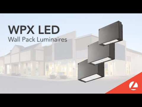 The Lithonia Lighting® WPX LED Wall Pack Luminaire