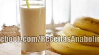 Receitas Anabólicas #5-Vitamina de banana